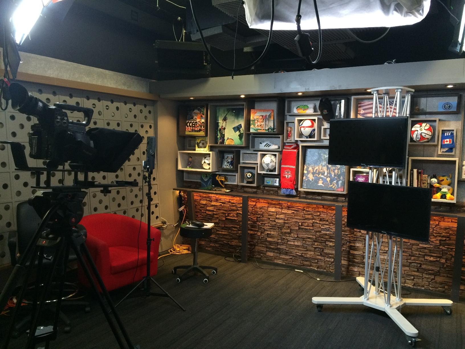 MLS Kick TV Studio
