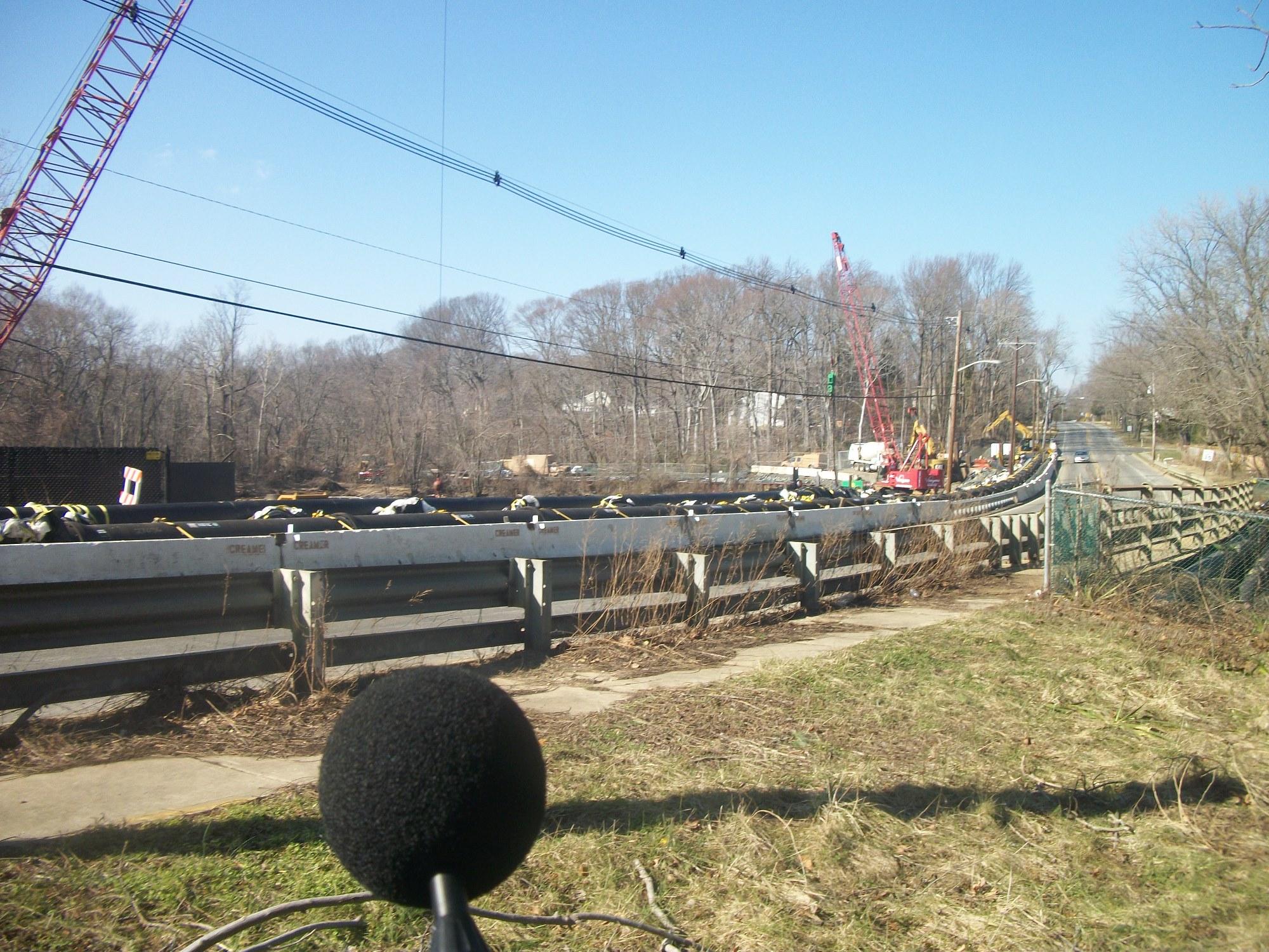New Jersey American Water Pipe Bridge Repair